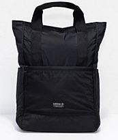 adidas Originals 11 mochila tote en negro