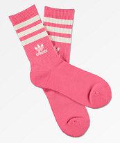 adidas Originals Chalk Pink Crew Socks