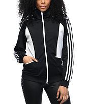 adidas Sandra Black & White Track Jacket