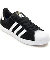 big sale 0e164 88db9 shopping adidas superstar vulc adv black white shoes zumiez 3f259 1a009