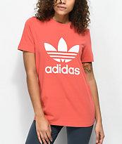 adidas Trefoil camiseta rosa