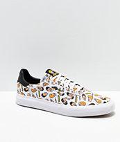 adidas x Beavis & Butthead 3MC zapatos de skate blancos