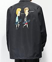 adidas x Beavis & Butthead Black Coaches Jacket