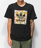 adidas x Beavis & Butthead camiseta negra