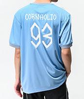 adidas x Beavis & Butthead jersey azul claro