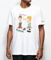 adidas x Beavis and Butthead White T-Shirt