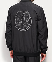 adidas x Beavis and Butthead chaqueta negra