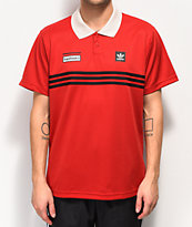 adidas x Beavis and Butthead polo rojo