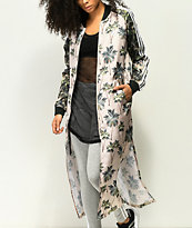 adidas x FARM Tropical Satin Track Kimono