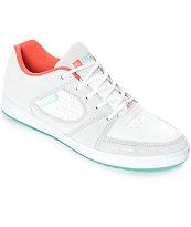 eS x DGK Accel Slim zapatos de skate en gris y blanco